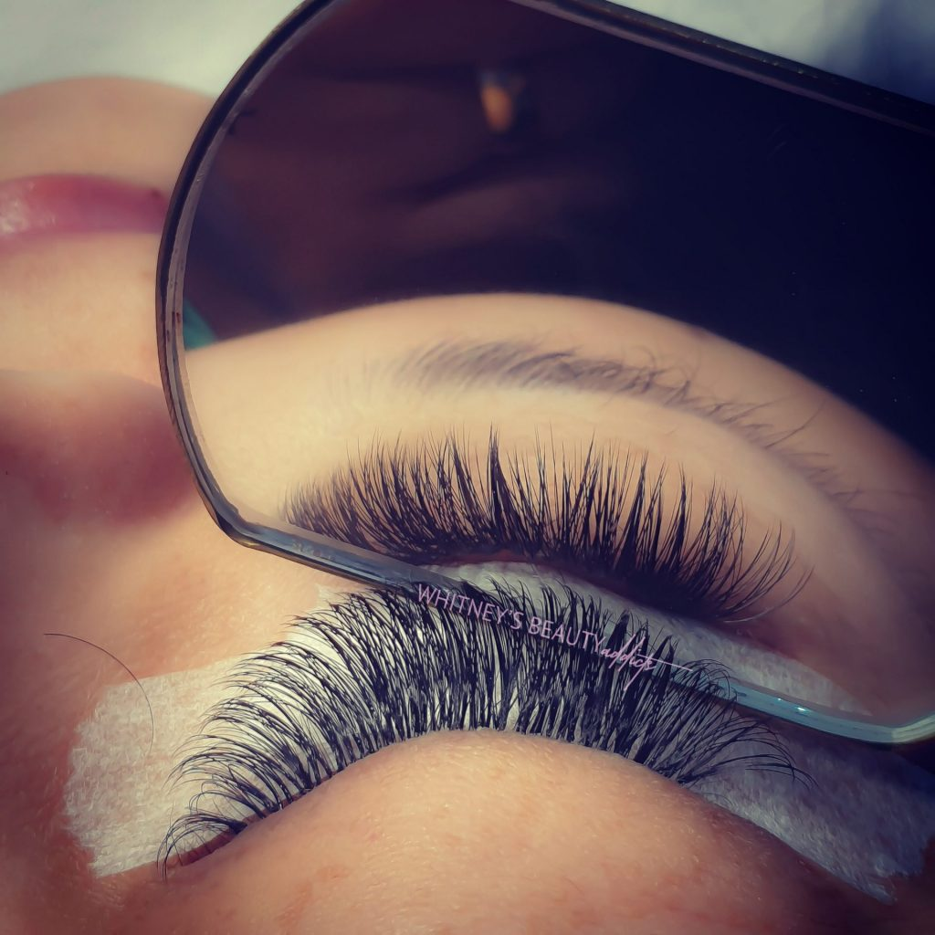 3D lashes up & down
