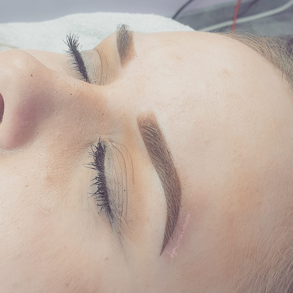 Ombre Brows after
